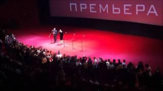 Хью Джекман в Москве на премьере фильма Живая сталь