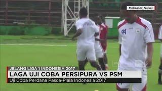 Uji Coba Perdana Sang Juara ISC Persipura Jayapura