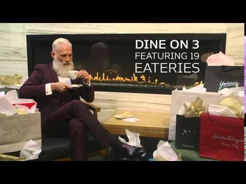 Yorkdale Fashion Santa Dine on 3
