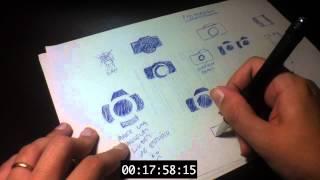 Processo de criação de um logo - Tutorial Design Blog