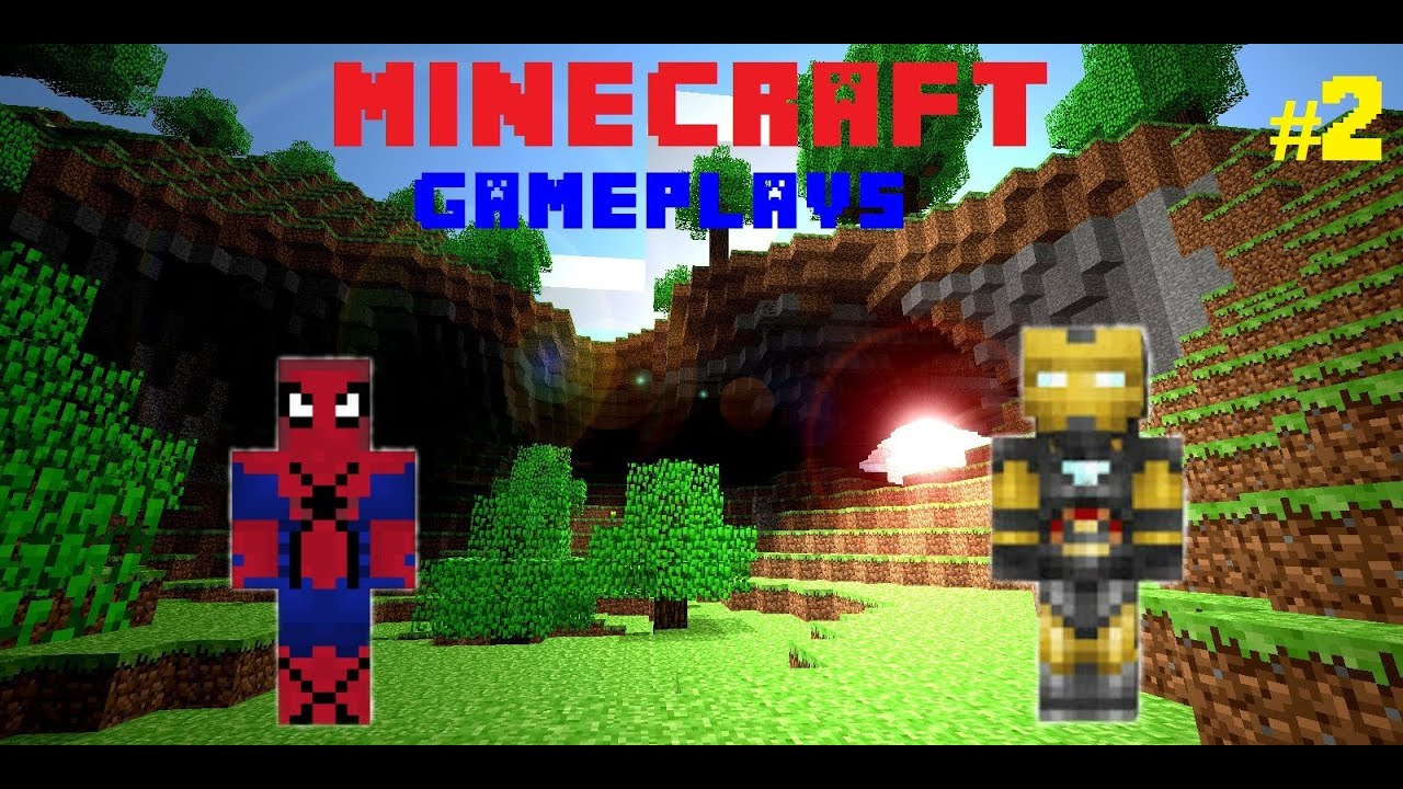 Minecraft Gameplays Episode 2 The Amazing Spider Man Skin