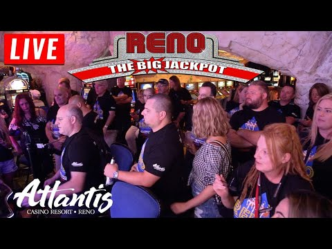 🔴LIVE HUGE Max Betting Slot Jackpots Incoming from The Atlantis Casino Resort Spa | The Big Jackpot