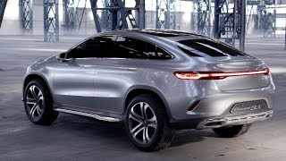 The four-door, all-wheel drive coupé study extends elegantly to a length of almost five meters and, with broad shoulders and flared wheel arches, stands go...