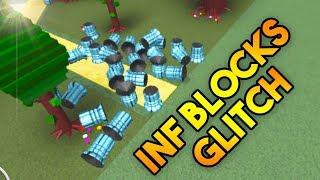 BLOCK DUPLICATION GLITCH! (Infinite Blocks!) | Build A Boat For Treasure ROBLOX