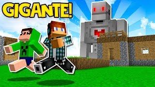 ENCONTREI UM ROBÔ GIGANTE NO MEU MUNDO !! - Minecraft Survival #46