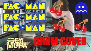 JOEY MUHA - Pacman Theme Meets Metal Drums!