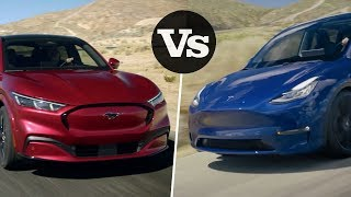 How Ford Mach-E Stacks Up Against Tesla Model Y