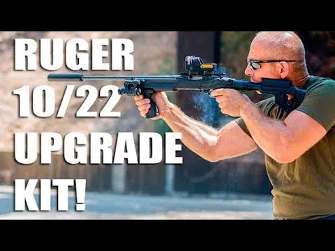 Amazing Tactical Upgrade Kit / Stock for Ruger 10/22 by FAB Defense