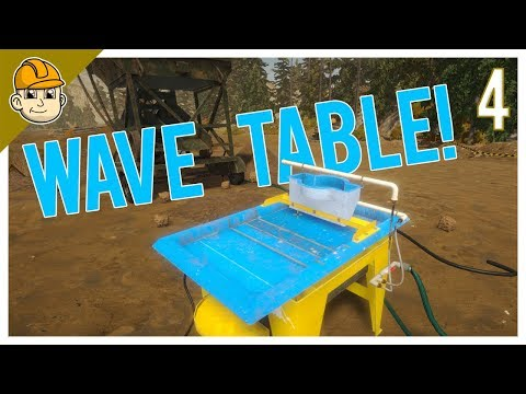 Gold Rush - A Wave Table and More New Toys!? - Ep.4 - Let's Play Gold Rush: The Game Gameplay