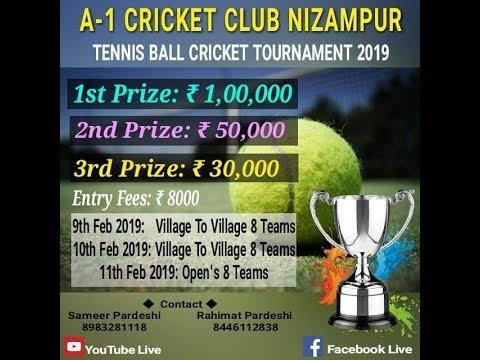 A -1  CRICKET CLUB NIZAMPUR 2019 DAY-1