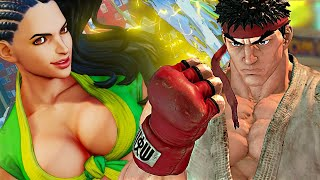 Street Fighter 5 All Characters Trailers | Street Fighter V Fighters Revealed (HD)