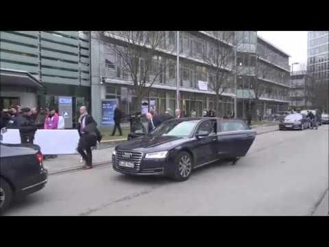 CSU Zentrale Bay MPr Horst Seehofer & Bundeskanzlerin Dr Angela Merkel 06 02 2017 Teil VI