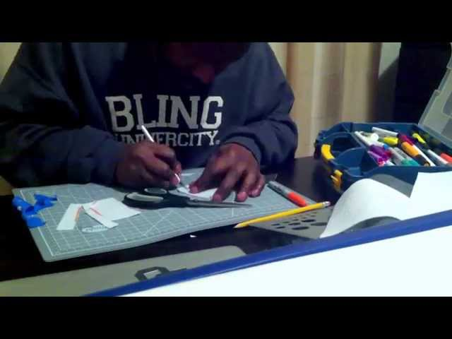 Making Letters from Felt material (Project Protoype)