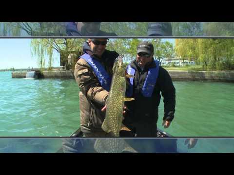 Pike Fishing In Lake Ontario - Bob Izumi and Taro Murata