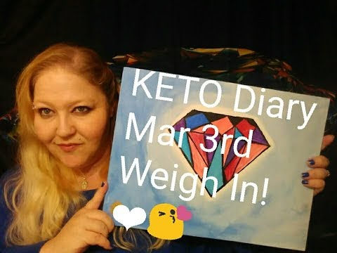 keto-diary-march-3rd-weigh-in-plus