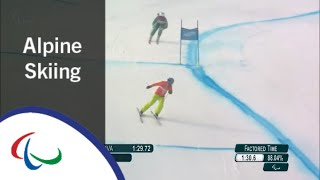 Melissa PERRINE  | Downhill | PyeongChang2018 Paralympic Winter Games
