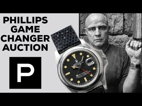 Phillips Game Changer Auction Watches