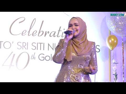 Siti Nurhaliza - Can't Take My Eyes Off You #SitiGolden40th