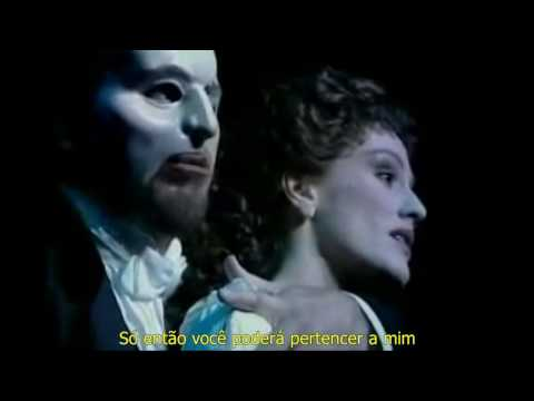 O Fantasma da Ópera - Music of the Night - Legendado Português BR