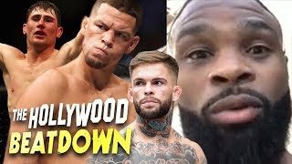 Tyron Woodley Says No Way Darren Till Lasts 5 Rounds | The Hollywood Beatdown