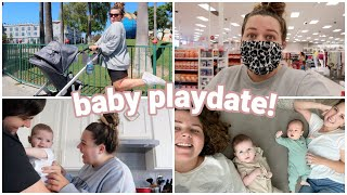 baby play date, legoland, + a stressful target trip