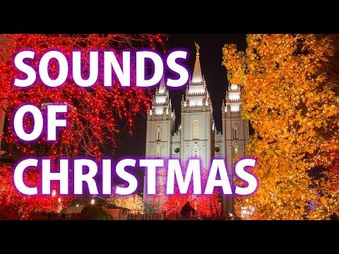 Salt Lake City Downtown Christmas time