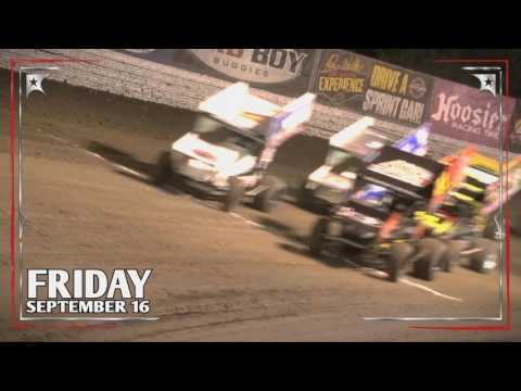 World of Outlaws at Clay County Fair Speedway on Friday, September 16