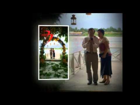 trang trí cưới thảo điền village -Hoa BAY
