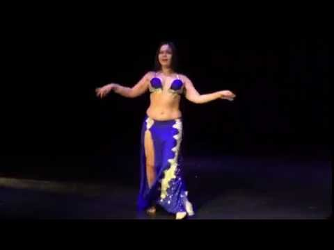 Anna Semenova AbouTaleb - Farid El Atrash song at Gala closed show in Beijing