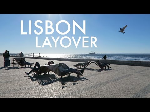 8-HOUR LAYOVER IN LISBON // Portugal