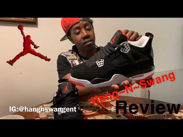 """DHgate* Nike Air Jordan Retro 4 """"BRED"""