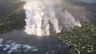 lava destroys homes in hawaii