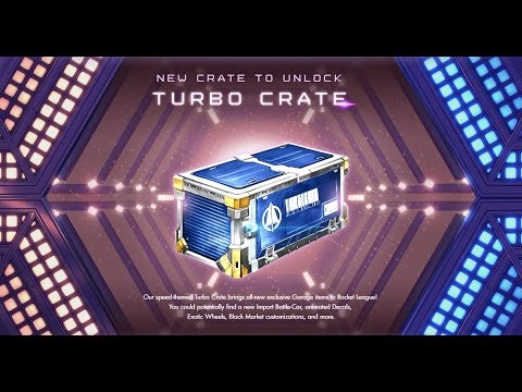 Turbo Crate Details - 2 BM Decals, Painted Cars + Boost Trails