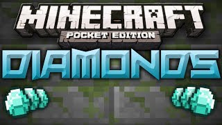 Easy Diamond Seed - Diamonds Under Spawn - Minecraft Pocket Edition
