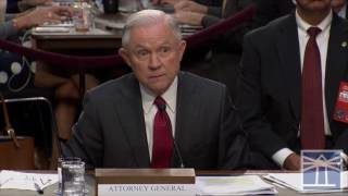 Sessions says Trump asked for opinion on firing Comey and he gave it | Sessions testifies