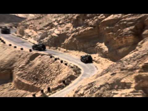 Secret military training of the IDF in southern Israel