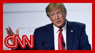 Trump plays off GOP senator's recession concerns