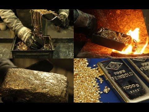 ПЛАВКА ЗОЛОТА. Литейные технологии плавки и переработки золота в заводских условиях.