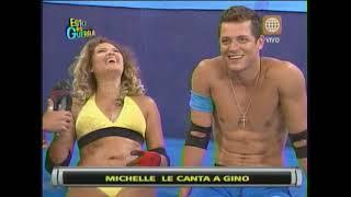 Esto es Guerra: Ampay a Michelle Soifer y Gino Pesaressi - 22/02/2013