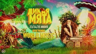 "Дикая Мята 2017 - блок ""World music"""