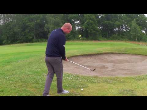 Jørgen Hillås chip over bunker