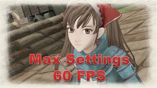 Valkyria Chronicles [PC] Gameplay [60FPS]