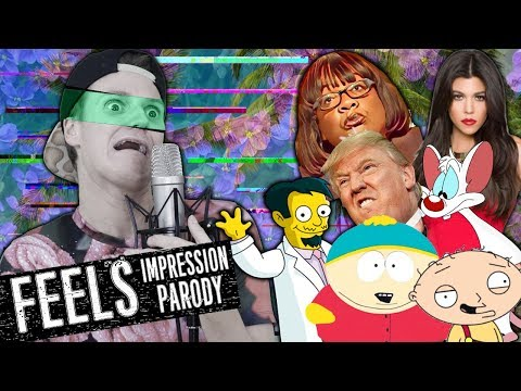 Calvin Harris - Feels ft. Pharrell Williams, Katy Perry, Big Sean - Impression Parody - Philip Green