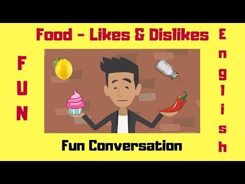 Food   Likes & Dislikes   Natural English Conversation