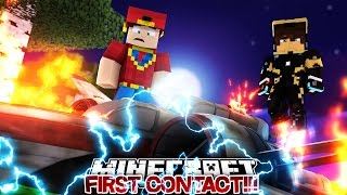 Minecraft Adventure - ROPO & JACK MAKE FIRST CONTACT!!