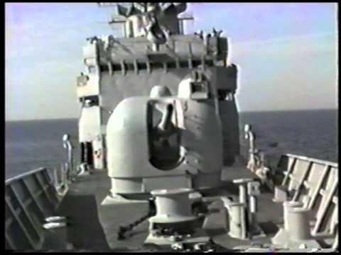 USS Thomas C. Hart (FF-1092)  Desert Shield December 2, 1990
