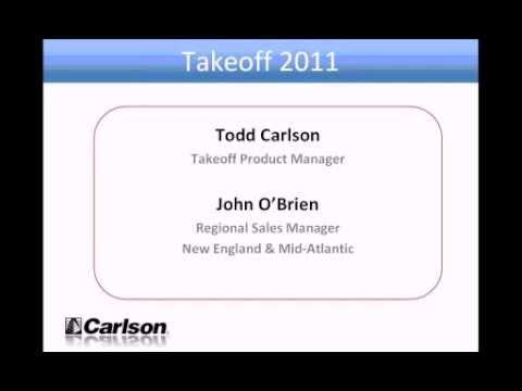 Carlson Takeoff Webinar