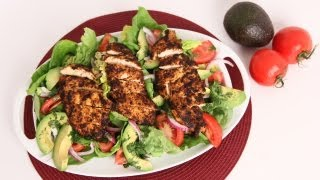 Spicy Grilled Chicken Salad with Avocado - Laura Vitale - Laura in the Kitchen Episode 595