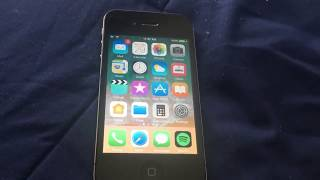 iPhone 4s with iOS 11 theme update #2