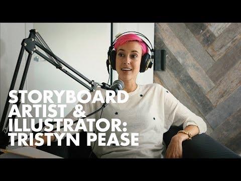 Meet Storyboard Artist & Illustrator Tristyn Pease— 4 mins.